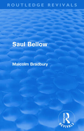 Saul Bellow (Routledge Revivals) book cover