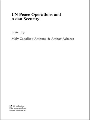 UN Peace Operations and Asian Security book cover