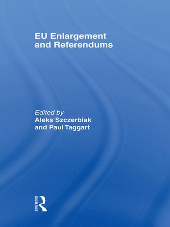 EU Enlargement and Referendums book cover
