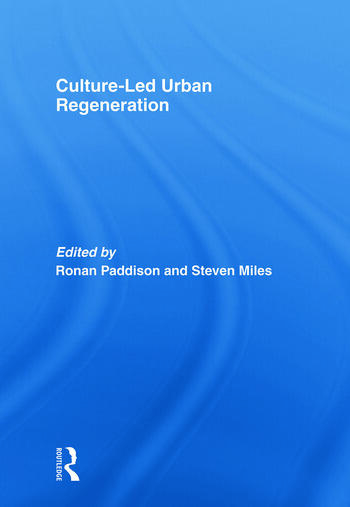 Culture-Led Urban Regeneration book cover