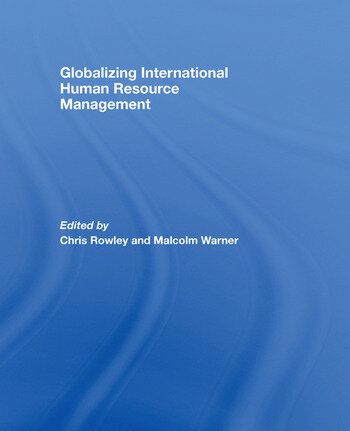 Globalizing International Human Resource Management book cover