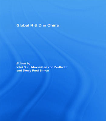 Global R&D in China book cover