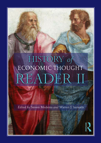 The History of Economic Thought A Reader; Second Edition book cover