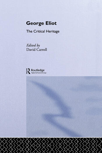 George Eliot The Critical Heritage book cover