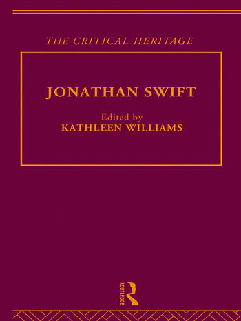 Jonathan Swift The Critical Heritage book cover