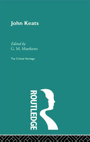 John Keats The Critical Heritage book cover