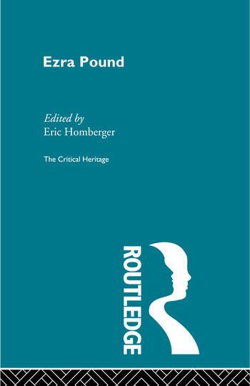 Ezra Pound book cover
