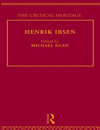 Henrik Ibsen book cover