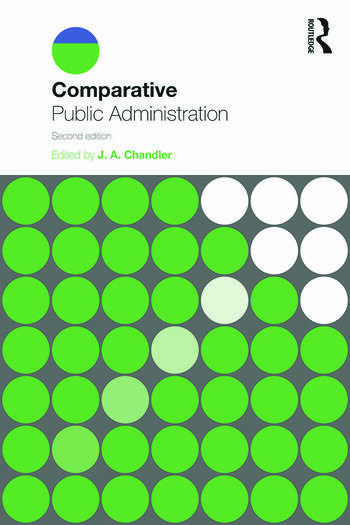 Comparative Public Administration book cover