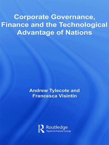 Corporate Governance, Finance and the Technological Advantage of Nations book cover