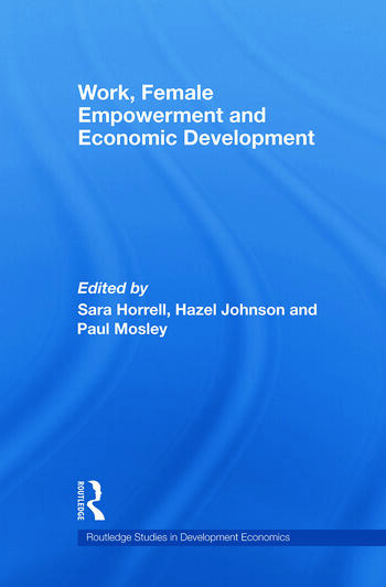 Work, Female Empowerment and Economic Development book cover
