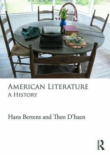 American Literature A History book cover