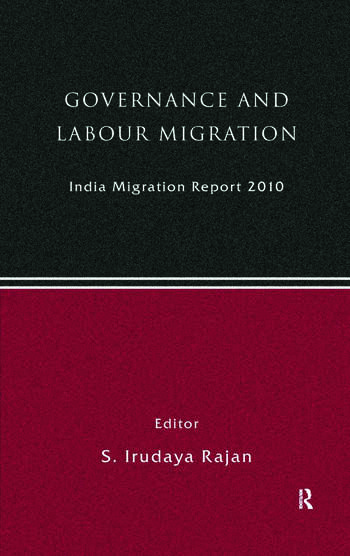 India Migration Report 2010 Governance and Labour Migration book cover