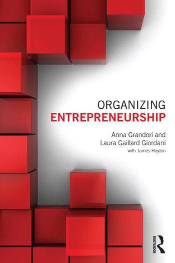 Organizing Entrepreneurship book cover