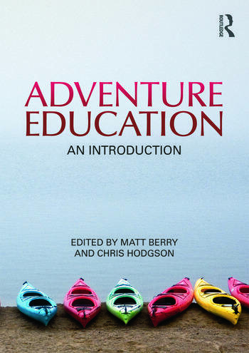 Adventure Education An Introduction book cover