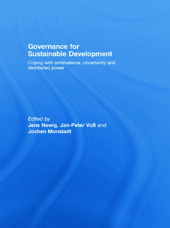 Governance for Sustainable Development Coping with ambivalence, uncertainty and distributed power book cover