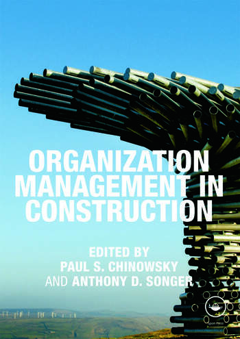 Organization Management in Construction book cover