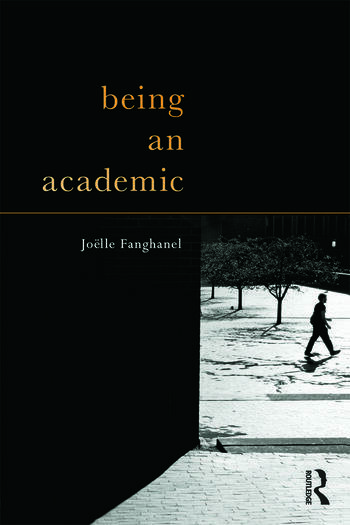 Being an Academic book cover