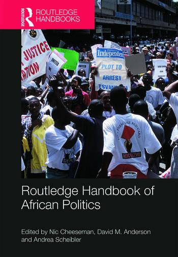 Routledge Handbook of African Politics book cover
