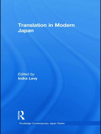 Translation in Modern Japan book cover