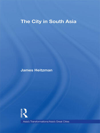The City in South Asia book cover