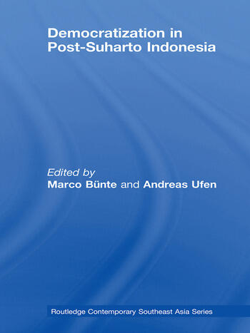 Democratization in Post-Suharto Indonesia book cover