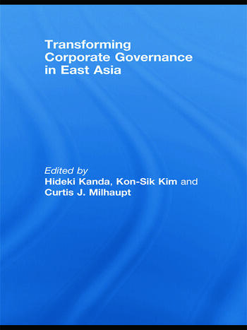 Transforming Corporate Governance in East Asia book cover