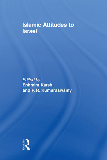 Islamic Attitudes to Israel book cover