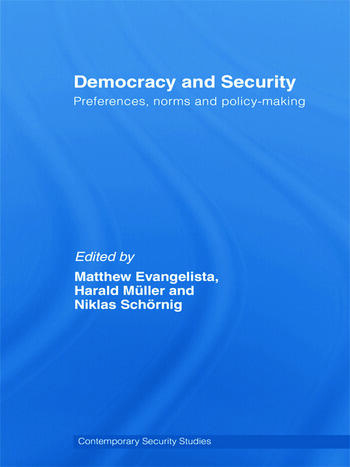 Democracy and Security Preferences, Norms and Policy-Making book cover