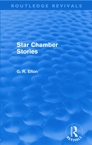 Star Chamber Stories (Routledge Revivals) book cover