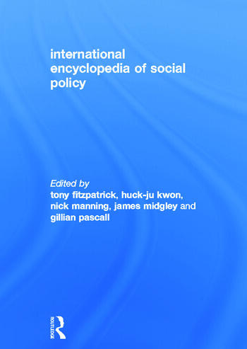 International Encyclopedia of Social Policy book cover