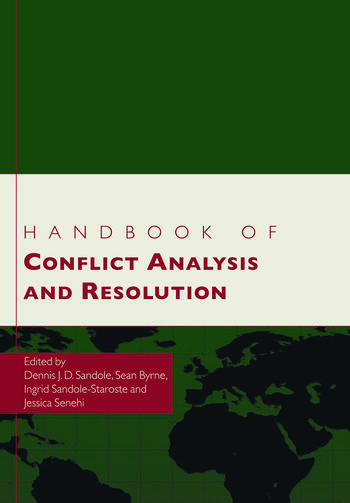 Handbook of Conflict Analysis and Resolution book cover