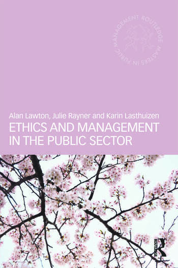 Ethics and Management in the Public Sector book cover
