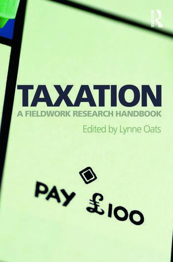 Taxation A Fieldwork Research Handbook book cover