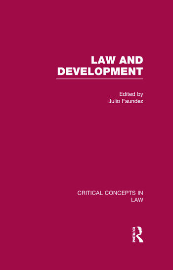 Law and Development book cover