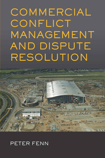 Commercial Conflict Management and Dispute Resolution book cover