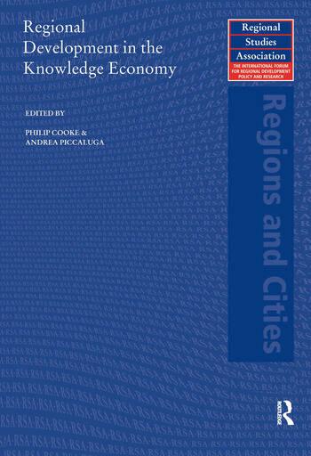 Regional Development in the Knowledge Economy book cover
