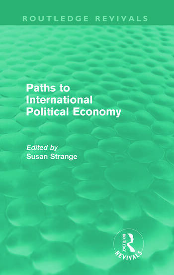 Paths to International Political Economy (Routledge Revivals) book cover