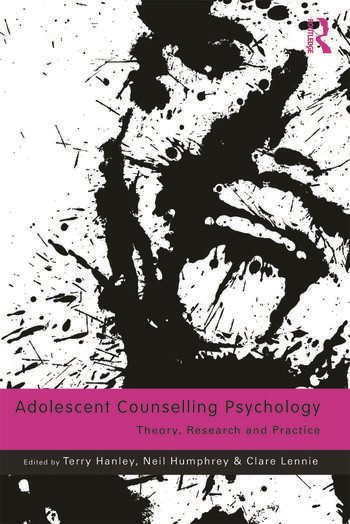 Adolescent Counselling Psychology Theory, Research and Practice book cover