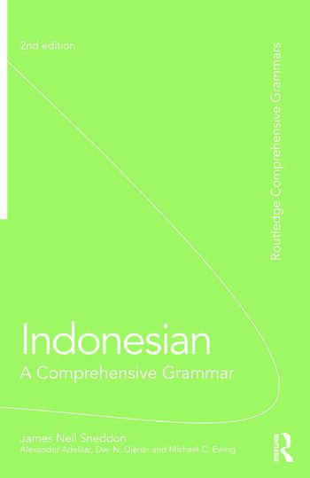 Indonesian: A Comprehensive Grammar book cover