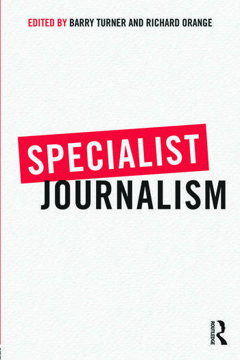 Specialist Journalism book cover