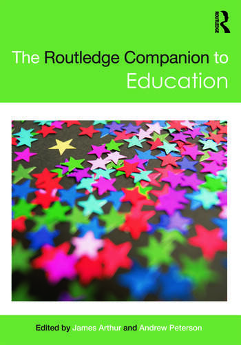 The Routledge Companion to Education book cover