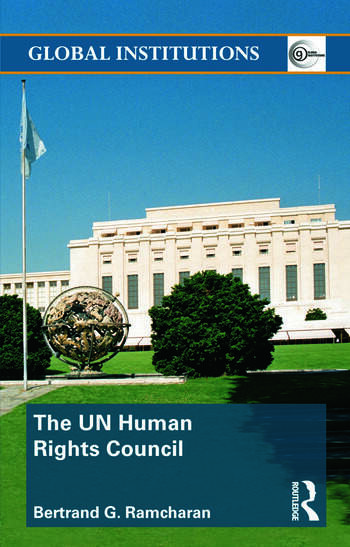 The UN Human Rights Council book cover