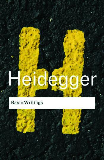 Basic Writings: Martin Heidegger book cover