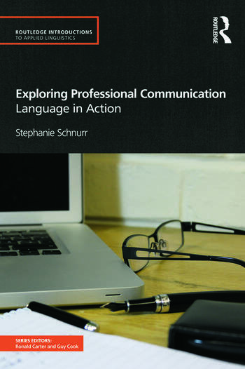 Exploring Professional Communication Language in Action book cover