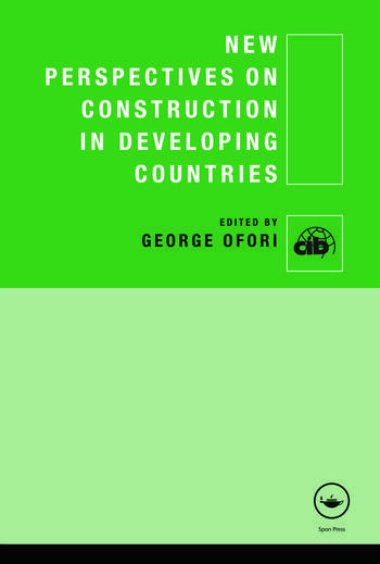 New Perspectives on Construction in Developing Countries book cover