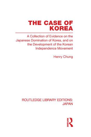 The Case of Korea book cover