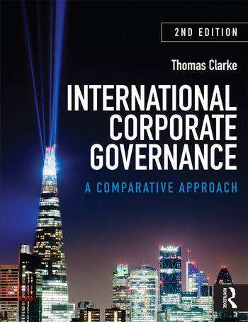 International Corporate Governance A Comparative Approach book cover