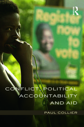 Conflict, Political Accountability and Aid book cover