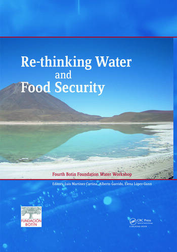 Re-thinking Water and Food Security Fourth Botin Foundation Water Workshop book cover